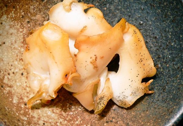 白バイ貝干物
